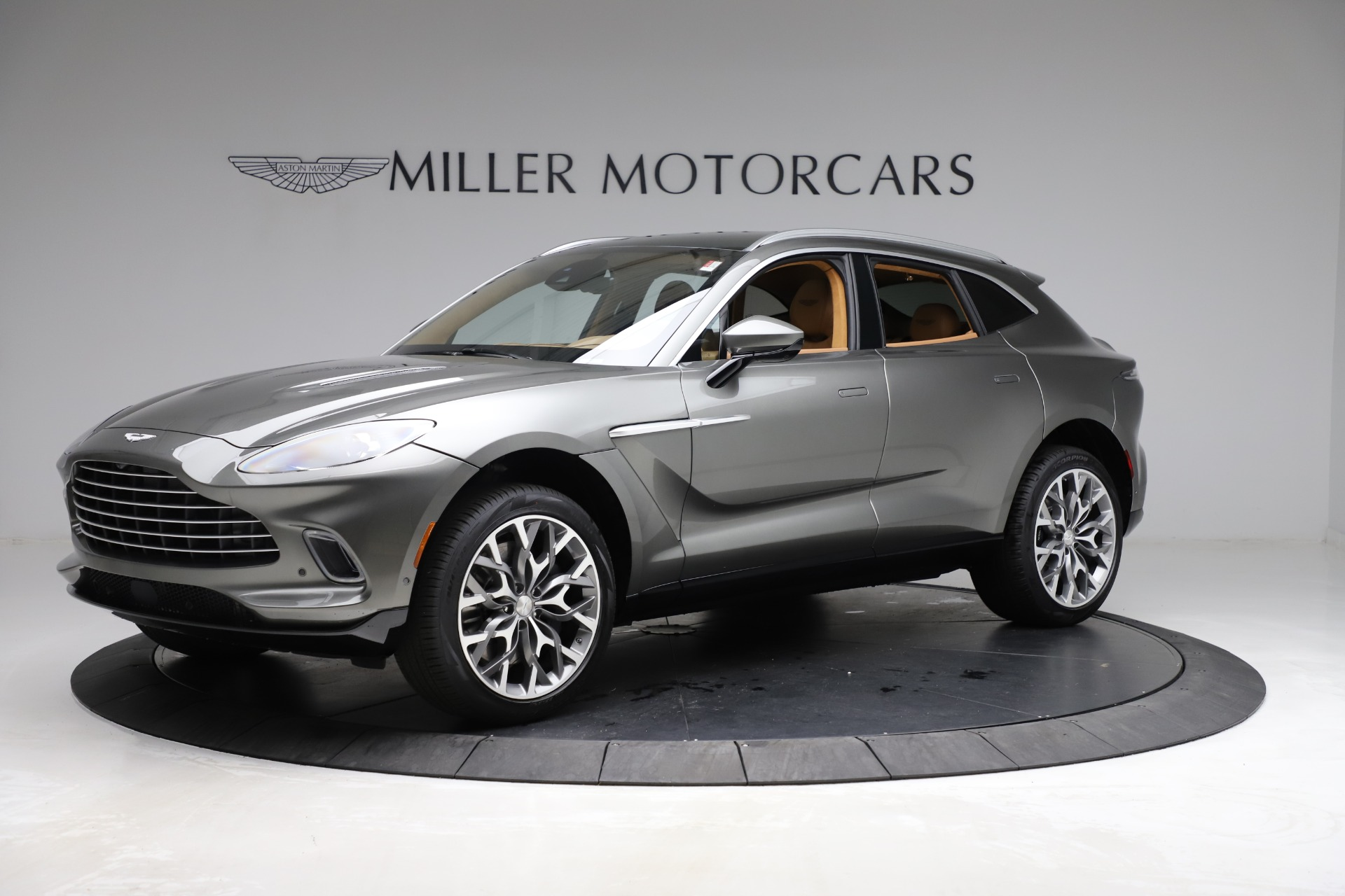 New 2021 Aston Martin DBX for sale $211,486 at Aston Martin of Greenwich in Greenwich CT 06830 1
