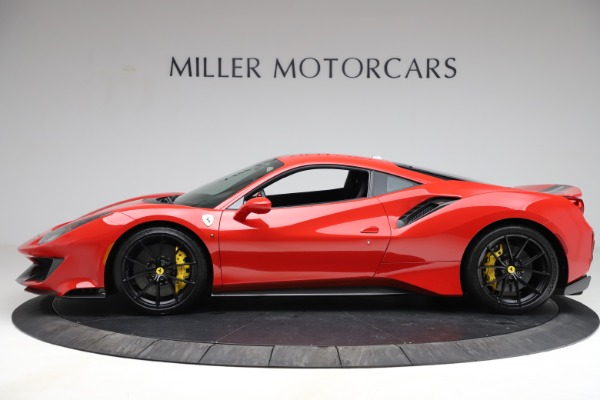 Used 2020 Ferrari 488 Pista for sale Call for price at Aston Martin of Greenwich in Greenwich CT 06830 3