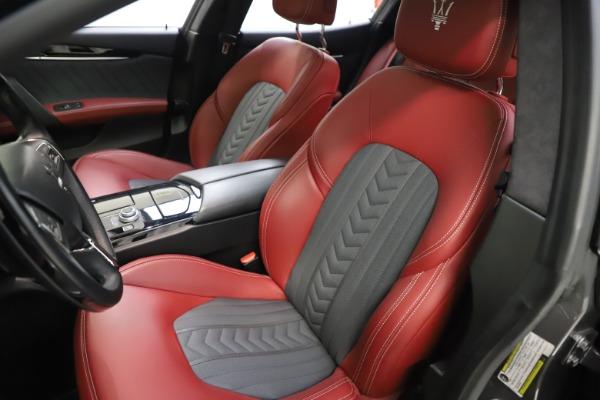 Used 2018 Maserati Ghibli SQ4 GranLusso for sale $55,900 at Aston Martin of Greenwich in Greenwich CT 06830 10