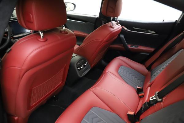 Used 2018 Maserati Ghibli SQ4 GranLusso for sale $55,900 at Aston Martin of Greenwich in Greenwich CT 06830 13