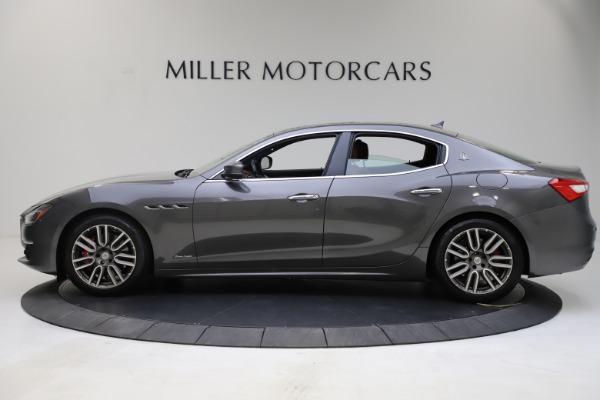 Used 2018 Maserati Ghibli SQ4 GranLusso for sale $55,900 at Aston Martin of Greenwich in Greenwich CT 06830 3