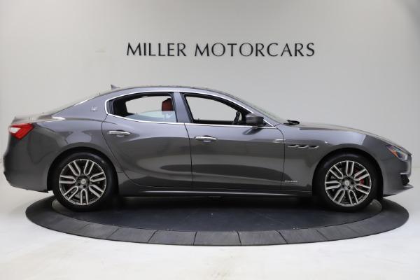 Used 2018 Maserati Ghibli SQ4 GranLusso for sale $55,900 at Aston Martin of Greenwich in Greenwich CT 06830 4
