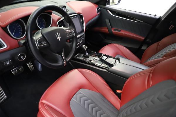 Used 2018 Maserati Ghibli SQ4 GranLusso for sale $55,900 at Aston Martin of Greenwich in Greenwich CT 06830 8