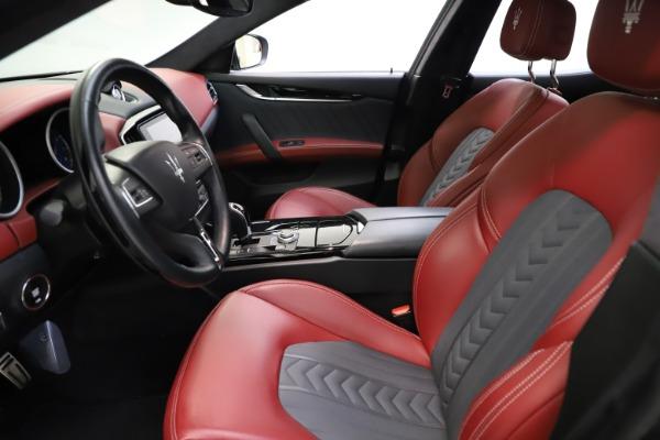 Used 2018 Maserati Ghibli SQ4 GranLusso for sale $55,900 at Aston Martin of Greenwich in Greenwich CT 06830 9