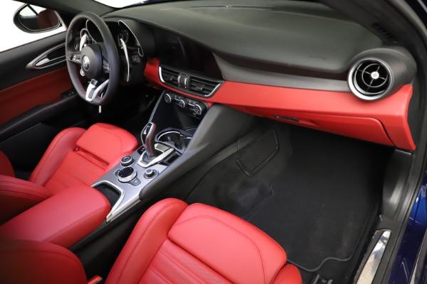 New 2021 Alfa Romeo Giulia Ti Sport for sale Sold at Aston Martin of Greenwich in Greenwich CT 06830 19