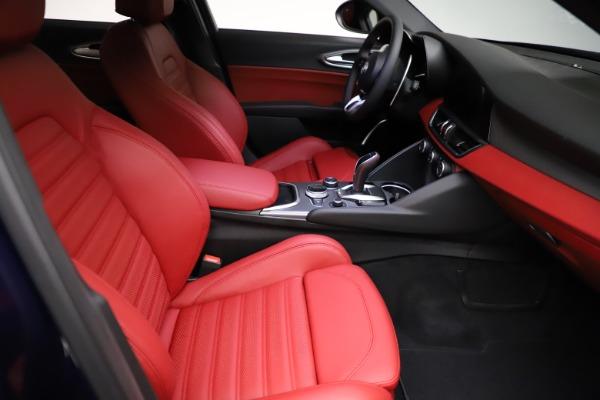 New 2021 Alfa Romeo Giulia Ti Sport for sale Sold at Aston Martin of Greenwich in Greenwich CT 06830 20