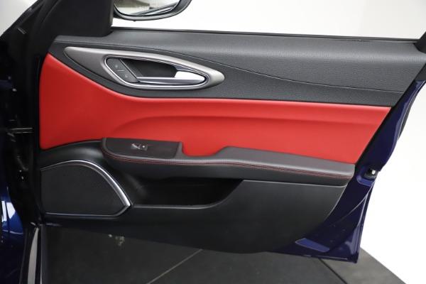 New 2021 Alfa Romeo Giulia Ti Sport for sale Sold at Aston Martin of Greenwich in Greenwich CT 06830 21