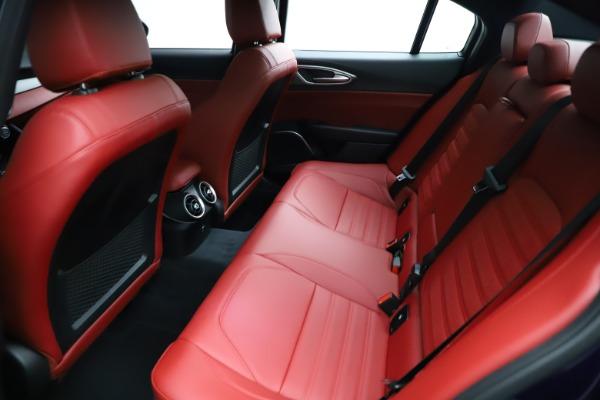 New 2021 Alfa Romeo Giulia Ti Sport for sale Sold at Aston Martin of Greenwich in Greenwich CT 06830 23