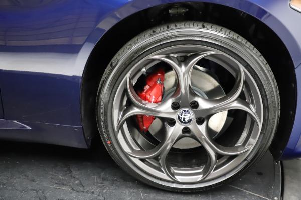 New 2021 Alfa Romeo Giulia Ti Sport for sale Sold at Aston Martin of Greenwich in Greenwich CT 06830 27