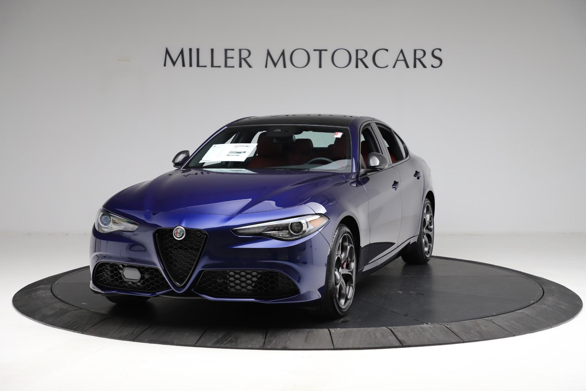 New 2021 Alfa Romeo Giulia Ti Sport for sale Sold at Aston Martin of Greenwich in Greenwich CT 06830 1