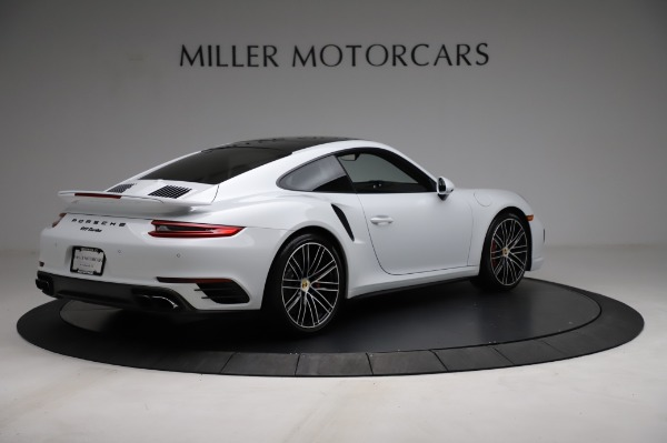 Used 2018 Porsche 911 Turbo for sale Sold at Aston Martin of Greenwich in Greenwich CT 06830 10