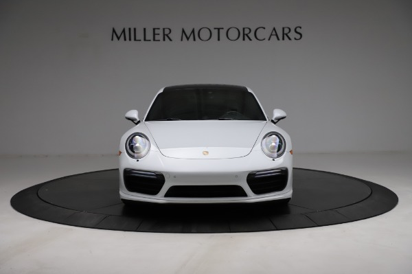 Used 2018 Porsche 911 Turbo for sale Sold at Aston Martin of Greenwich in Greenwich CT 06830 16