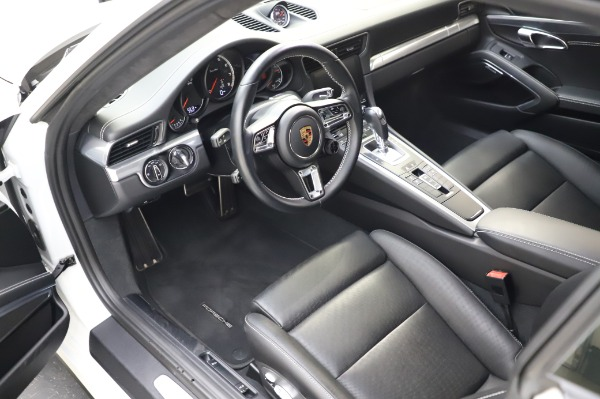Used 2018 Porsche 911 Turbo for sale Sold at Aston Martin of Greenwich in Greenwich CT 06830 17