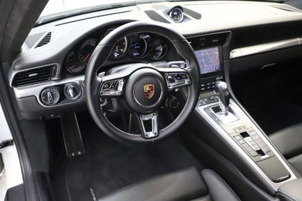 Used 2018 Porsche 911 Turbo for sale Sold at Aston Martin of Greenwich in Greenwich CT 06830 22