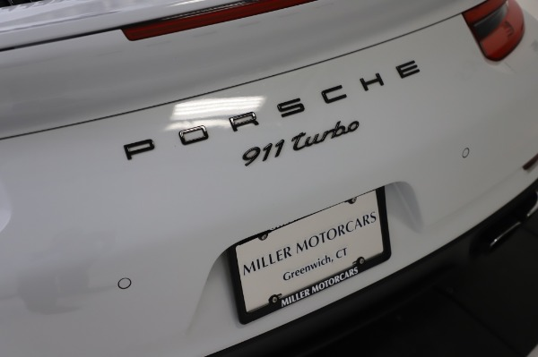 Used 2018 Porsche 911 Turbo for sale Sold at Aston Martin of Greenwich in Greenwich CT 06830 27