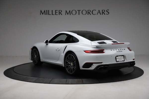 Used 2018 Porsche 911 Turbo for sale Sold at Aston Martin of Greenwich in Greenwich CT 06830 7