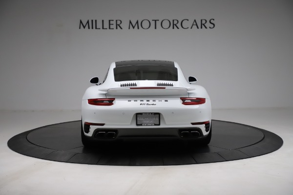 Used 2018 Porsche 911 Turbo for sale Sold at Aston Martin of Greenwich in Greenwich CT 06830 8