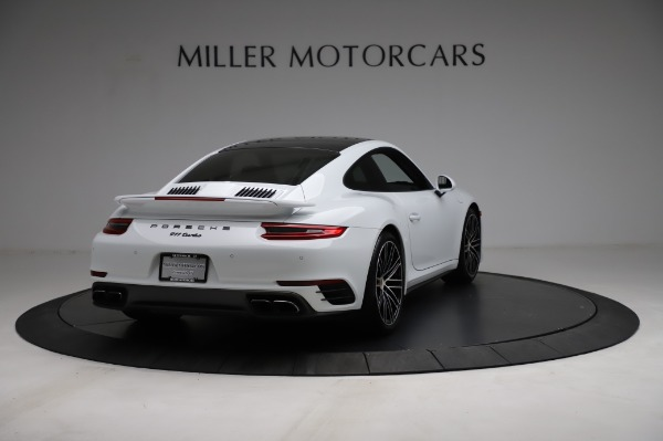 Used 2018 Porsche 911 Turbo for sale Sold at Aston Martin of Greenwich in Greenwich CT 06830 9