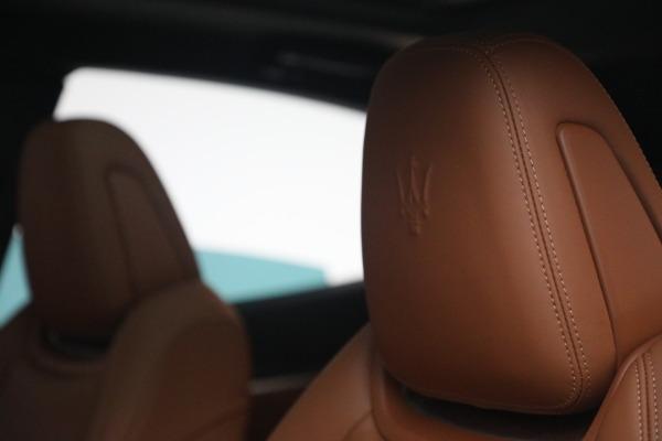 New 2021 Maserati Levante S Q4 GranSport for sale Sold at Aston Martin of Greenwich in Greenwich CT 06830 18
