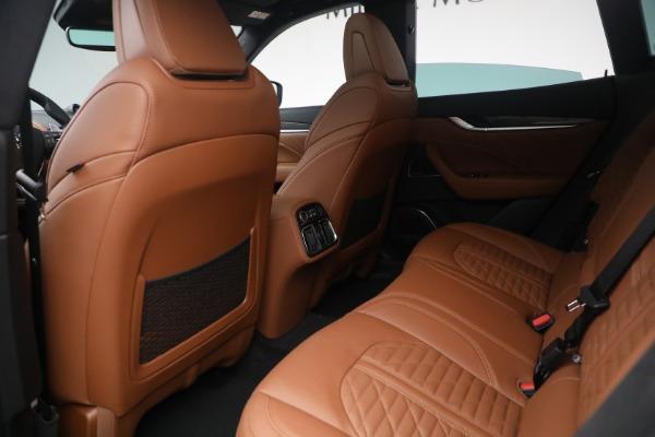 New 2021 Maserati Levante S Q4 GranSport for sale Sold at Aston Martin of Greenwich in Greenwich CT 06830 25