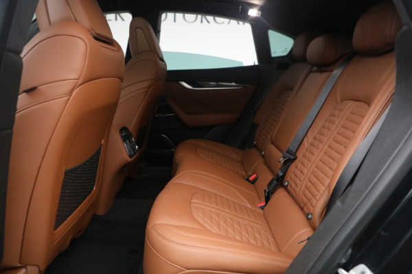 New 2021 Maserati Levante S Q4 GranSport for sale Sold at Aston Martin of Greenwich in Greenwich CT 06830 26