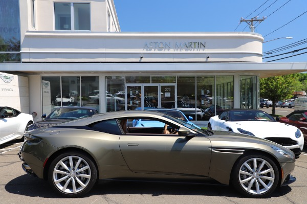 Used 2018 Aston Martin DB11 V8 for sale Sold at Aston Martin of Greenwich in Greenwich CT 06830 22