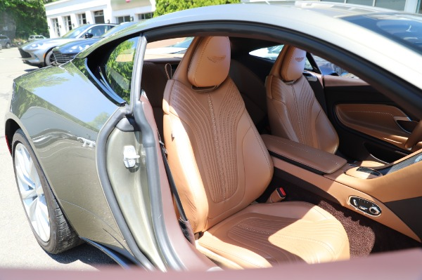 Used 2018 Aston Martin DB11 V8 for sale Sold at Aston Martin of Greenwich in Greenwich CT 06830 23