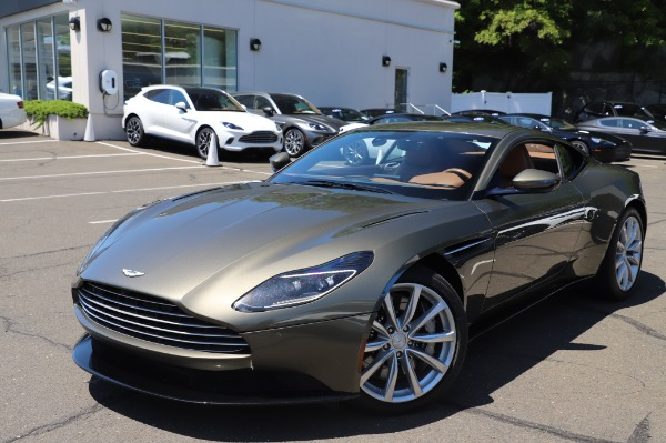 Used 2018 Aston Martin DB11 V8 for sale Sold at Aston Martin of Greenwich in Greenwich CT 06830 24