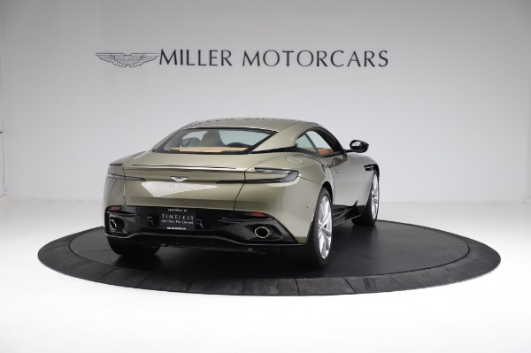 Used 2018 Aston Martin DB11 V8 for sale Sold at Aston Martin of Greenwich in Greenwich CT 06830 6