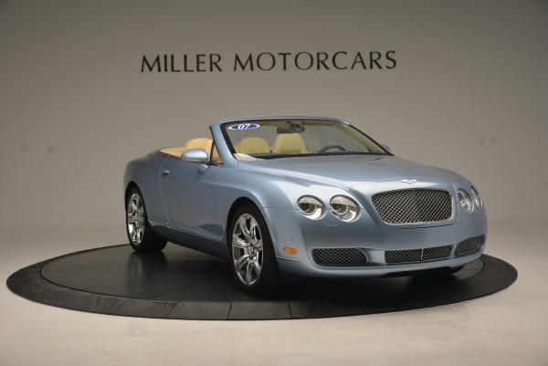 Used 2007 Bentley Continental GTC for sale Sold at Aston Martin of Greenwich in Greenwich CT 06830 10