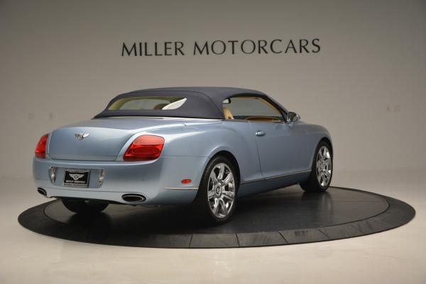 Used 2007 Bentley Continental GTC for sale Sold at Aston Martin of Greenwich in Greenwich CT 06830 19