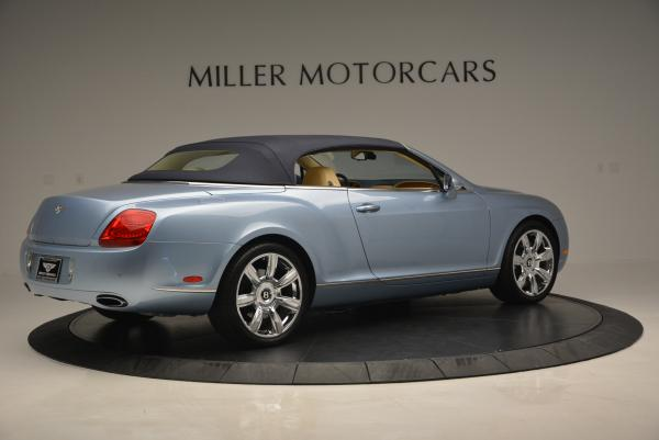 Used 2007 Bentley Continental GTC for sale Sold at Aston Martin of Greenwich in Greenwich CT 06830 20