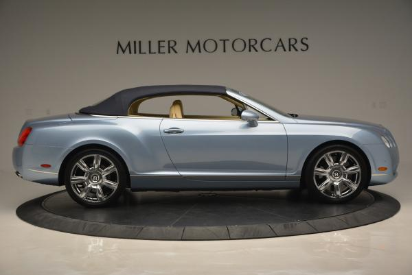 Used 2007 Bentley Continental GTC for sale Sold at Aston Martin of Greenwich in Greenwich CT 06830 21