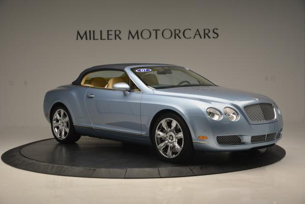 Used 2007 Bentley Continental GTC for sale Sold at Aston Martin of Greenwich in Greenwich CT 06830 22