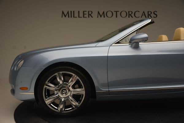 Used 2007 Bentley Continental GTC for sale Sold at Aston Martin of Greenwich in Greenwich CT 06830 28