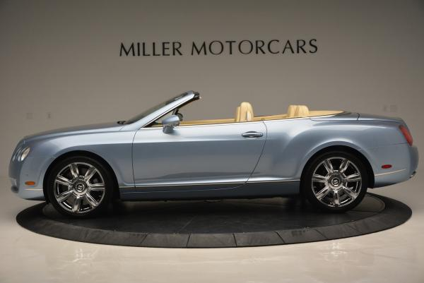 Used 2007 Bentley Continental GTC for sale Sold at Aston Martin of Greenwich in Greenwich CT 06830 3