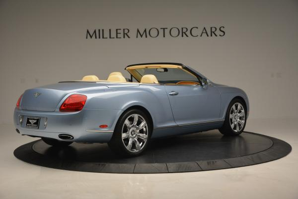 Used 2007 Bentley Continental GTC for sale Sold at Aston Martin of Greenwich in Greenwich CT 06830 8