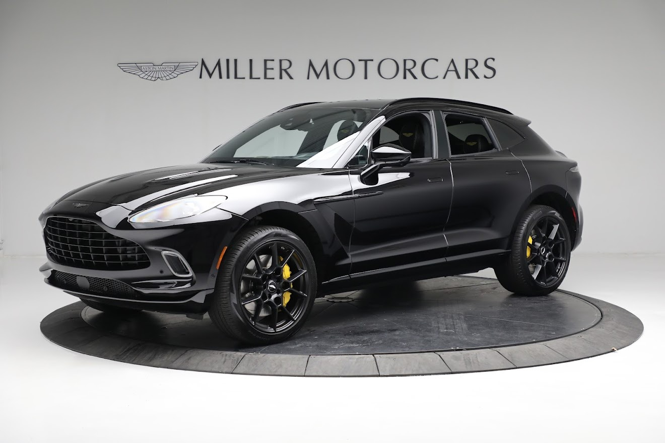 New 2021 Aston Martin DBX for sale $209,686 at Aston Martin of Greenwich in Greenwich CT 06830 1