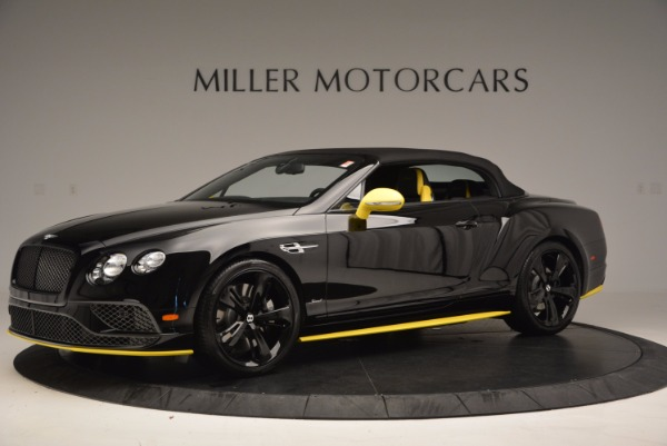 New 2017 Bentley Continental GT Speed Black Edition Convertible for sale Sold at Aston Martin of Greenwich in Greenwich CT 06830 11