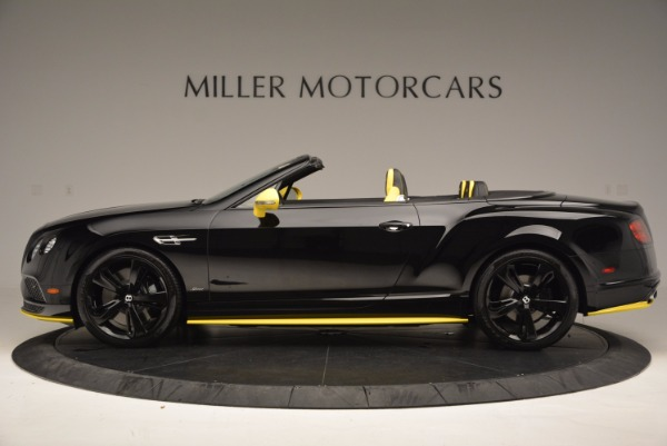 New 2017 Bentley Continental GT Speed Black Edition Convertible for sale Sold at Aston Martin of Greenwich in Greenwich CT 06830 3
