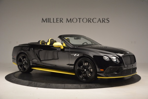 New 2017 Bentley Continental GT Speed Black Edition Convertible for sale Sold at Aston Martin of Greenwich in Greenwich CT 06830 7