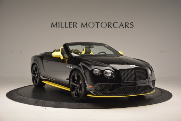 New 2017 Bentley Continental GT Speed Black Edition Convertible for sale Sold at Aston Martin of Greenwich in Greenwich CT 06830 8