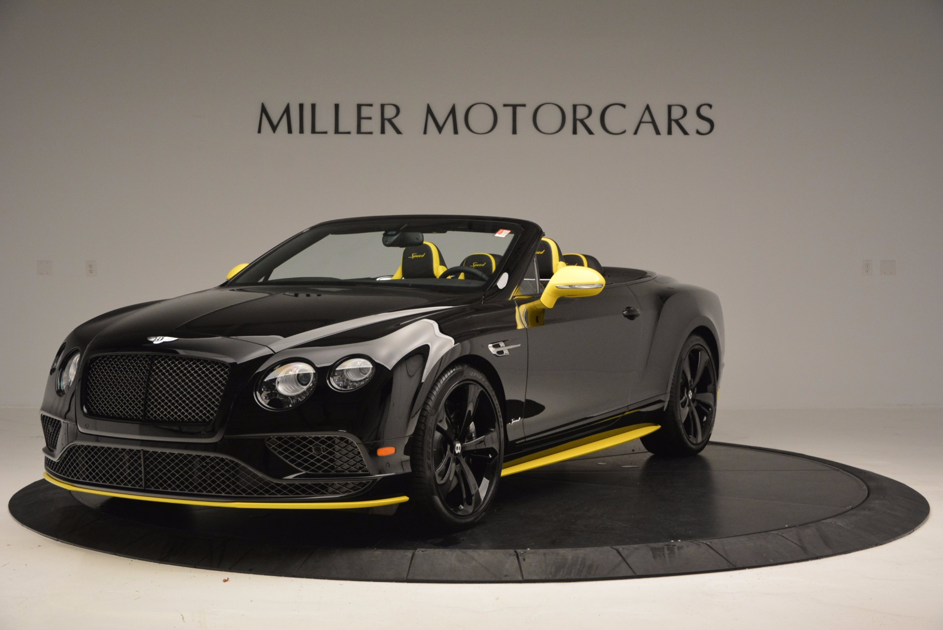 New 2017 Bentley Continental GT Speed Black Edition Convertible for sale Sold at Aston Martin of Greenwich in Greenwich CT 06830 1