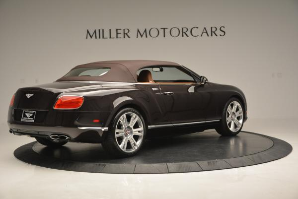 Used 2013 Bentley Continental GTC V8 for sale Sold at Aston Martin of Greenwich in Greenwich CT 06830 21