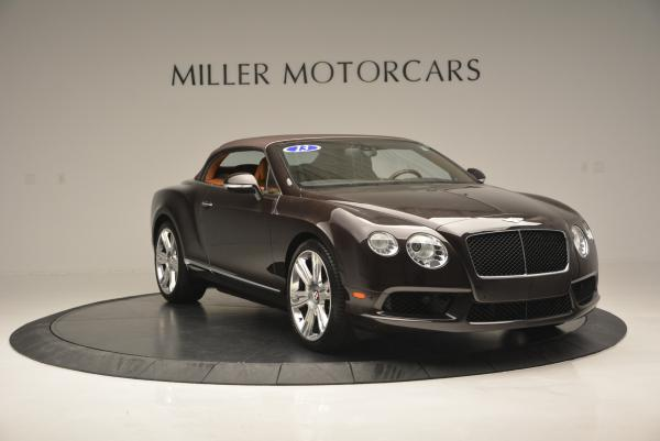 Used 2013 Bentley Continental GTC V8 for sale Sold at Aston Martin of Greenwich in Greenwich CT 06830 24