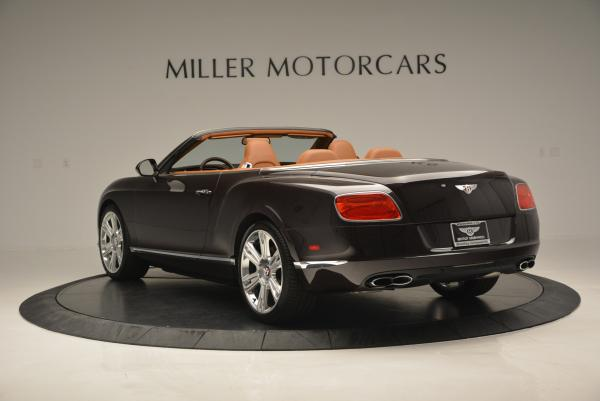 Used 2013 Bentley Continental GTC V8 for sale Sold at Aston Martin of Greenwich in Greenwich CT 06830 5