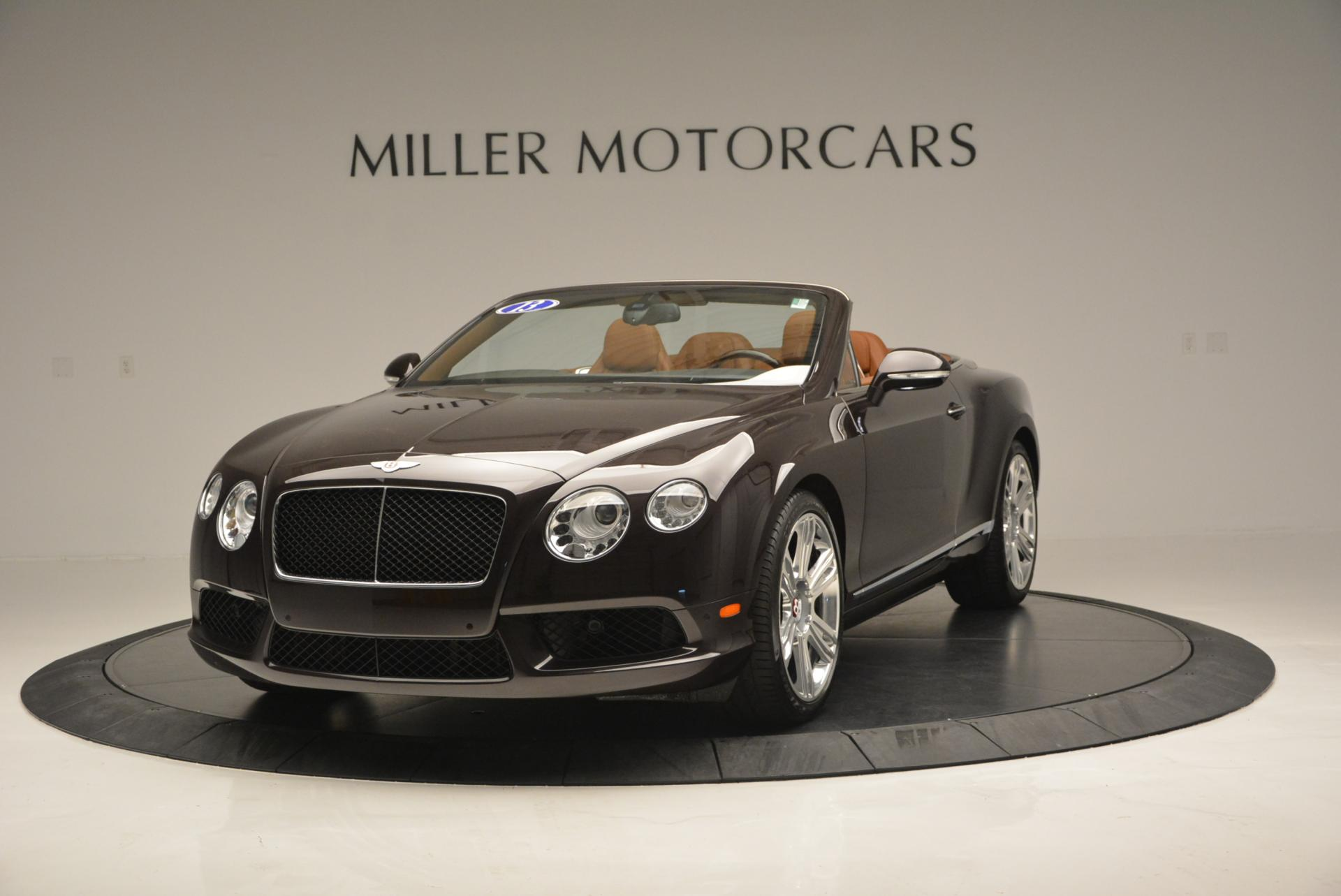 Used 2013 Bentley Continental GTC V8 for sale Sold at Aston Martin of Greenwich in Greenwich CT 06830 1