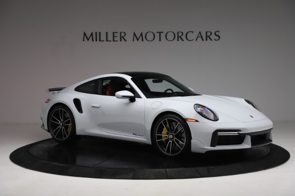 Used 2021 Porsche 911 Turbo S for sale $273,900 at Aston Martin of Greenwich in Greenwich CT 06830 10