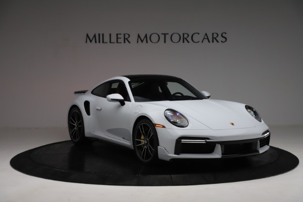 Used 2021 Porsche 911 Turbo S for sale $273,900 at Aston Martin of Greenwich in Greenwich CT 06830 11