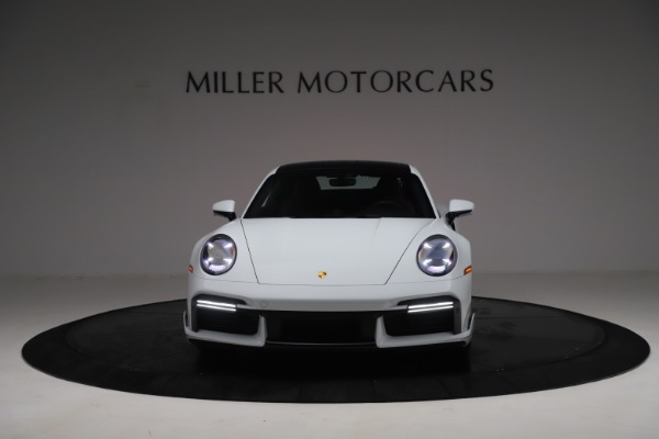 Used 2021 Porsche 911 Turbo S for sale $273,900 at Aston Martin of Greenwich in Greenwich CT 06830 12